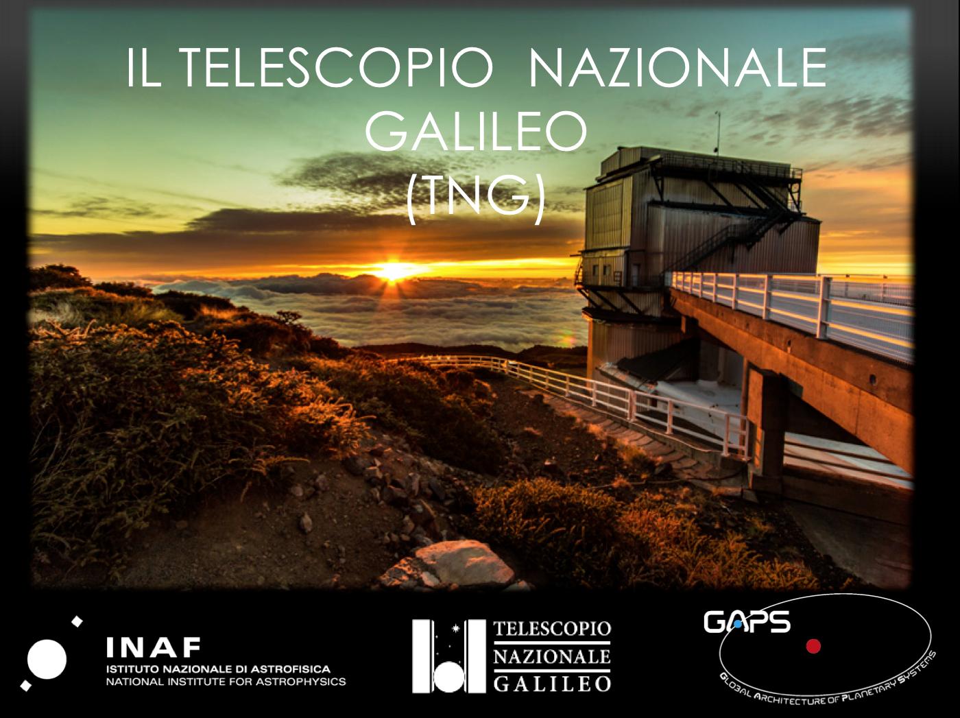Il Telescopio Nazonale Galileo